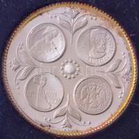 1978. Naptár Ag bélyegérem plasztik tokban (5,5g/0.835/24mm) T:2 (PP)