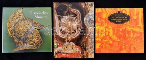 3 db klf művészeti katalógus, múzeumi kiadvány drezdai kiadótól
