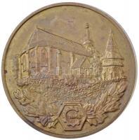 1989. Miskolc - A Gépészmérnöki Kar emlékérme 1949-1989 fém emlékérem (50mm) T:2