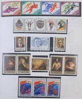 Szovjetunió tartalmas gyűjteménymaradvány albumban a 40-es 80-as évekből
