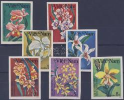 1984 Orchideák vágott sor Mi 1425-1431