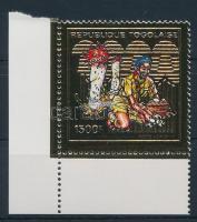Mushroom corner stamp, Gomba ívsarki bélyeg