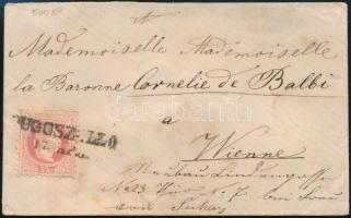 1867-1871 5kr levélen / on cover DUGOSZELLO - Wien