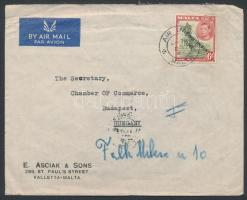1950 Légi levél Budapestre
