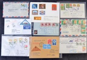 100 db küldemény az egész világból