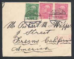 1915 Levél Bécsből Kaliforniába
