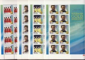 2000 Sydney olimpia ausztrál aranyérmesei Mi 1973I-1988I digitális nyomású kisívsor