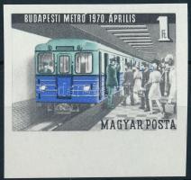 1970 Metró (II.) vágott ívszéli bélyeg (2.000)