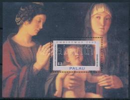 Karácsony, olasz festmény blokk Christmas, Italian painting block