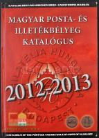 Magyar posta- és illetékbélyeg katalógus 2012-2013 (jó állapotban)
