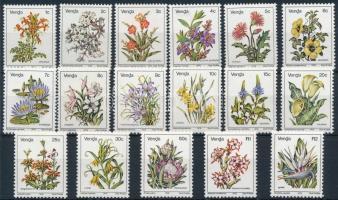 Forgalmi; Virágok sor Definitive, Flowers set