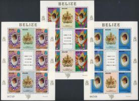 Diana hercegnő 21. születésnapja kisívsor Princess Diana minisheet set