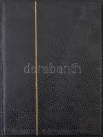 14 fekete lapos A/4 berakó fekete borítóval