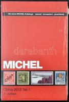 Michel Kína 2013 katalógus Tengerentúl 9/1 kötet új állapotban