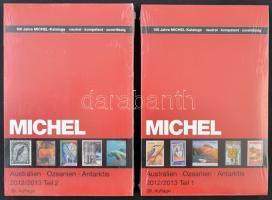 Michel Ausztrália Óceánia Antarktisz 2013/2013 2 kötetes katalógus Tengerentúl 7/1 és 7/2 új állapotban