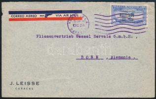 ~1938 Airmail cover ~1938 Légi levél