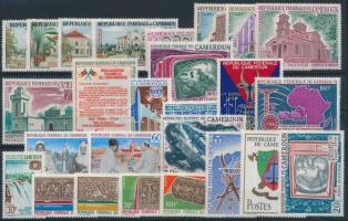 1966-1968 6 sets + 7 stamps, 1966-1968 6 klf sor + 7 klf önálló érték