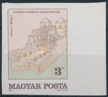 1989 Történelmi emlékhelyeink vágott ívszéli bélyeg (1.500)