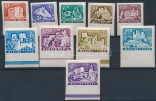 1961 Várak II. ívszéli vágott sor (5.000)