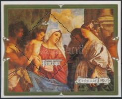 Karácsony: Dürer festmény blokk Christmas: Dürer's painting block