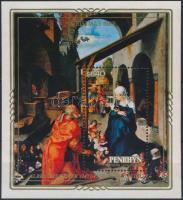 Karácsony: Rubens festmény blokk Christmas: Rubens painting block