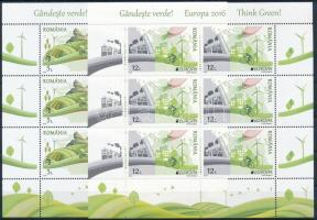 Europa CEPT, Környezettudatosság kisív sor Europa CEPT, Environmental Awareness mini sheet set