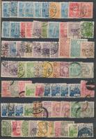 Japán 70 db régi bélyeg A5-ös berakólapon