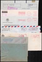 Lengyelország 1981-1982 7 db polgári és üzleti levél JARUZELSKI CENZURA bélyegzésekkel