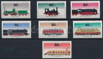 Németország, Németország - Berlin 1975 2 klf vonat sor Mi 488-491 + 836-838 (Mi 839 hiányzik)