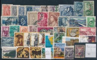 Görögország 1911-2003 43 klf bélyeg, közte fordított felülnyomat