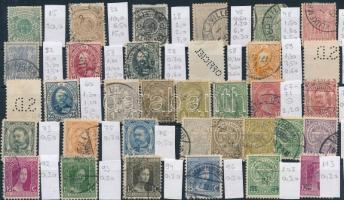 Luxemburg 1865-1915 34 klf bélyeg