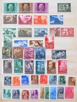 1941-1961 Magyar sorok gyűjteménye 8 lapos A4-es berakóban