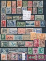 Görögország, Törökország, Albánia 1884-2006 372 db klf bélyeg (120 db görög, 166 török és 86 db albán) 3 db A4-es berakólapon