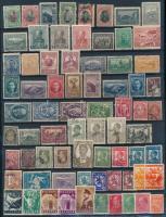 Vegyes Európai országok 335 db klf bélyeg, ebből 290 db klf bolgár 3 db A4-es berakólapon