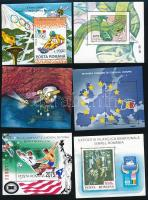 Románia 1985-1998 10 db román blokk