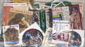 Románia 2007-2016 155 db bélyeg tasakban ömlesztve