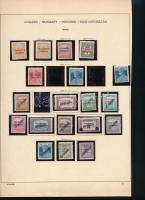 Arad 1919 19 db bélyeg (*33.500)