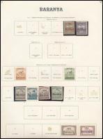 Baranya I. 1919 10 klf bélyeg (*57.625)