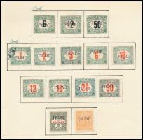 Fiume 1918 14 klf bélyeg (min *48.200)