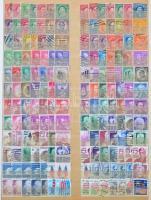 Amerikai Egyesült Államok 1090 klf bélyeg + 2 blokk 4 berakólapon