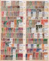 Deutsches Reich Kb. 47 db sor + 29 önálló érték A/4 berakólapon (Mi EUR 1561,90)