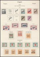 Arad 1919 22 klf bélyeg (*35.100)