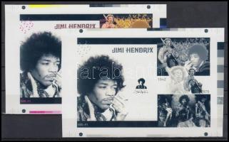 2012/24 Jimi Hendrix cromalin emlékívpár (120.000)