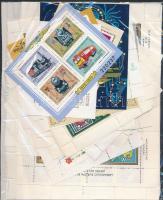1960-1980 30 db blokk és kisív tasakban ömlesztve