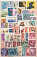 1949-1968 69 db bélyeg, jobb darabok, záróértékek (12.480)