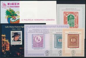 1996-1997 7 db klf emlékív (14.000)