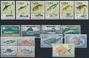 1965-1975 Halak motívum 4 klf sor