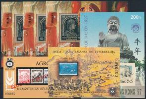 1986-1997 6 db klf emlékív (18.000)