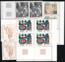 Franciaország 1979-1983 13 db Művészetek négyestömb