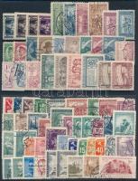 Csehszlovákia 1919-1954 70 db bélyeg, közte 10 sor